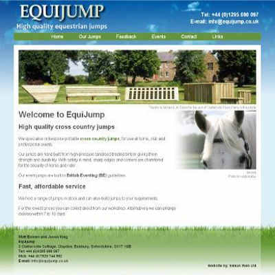 Equijump - cross country and show jumps